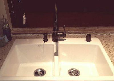 Garage-Sink-Install