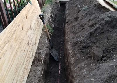 Sewer-Trench